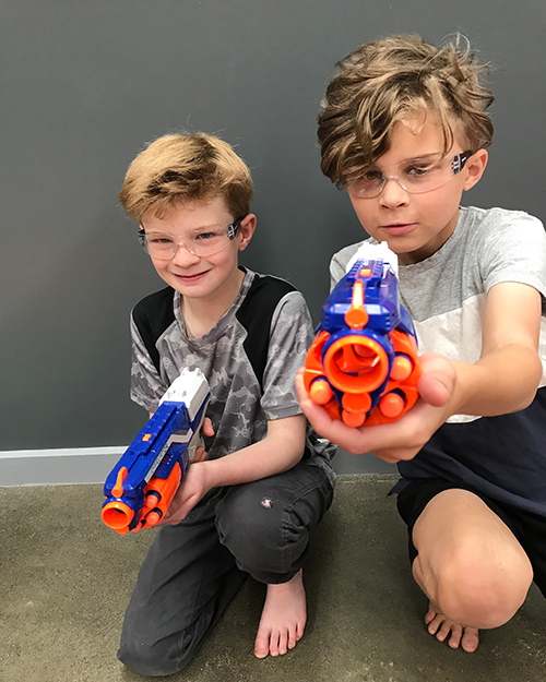 Nerf gun games, mobile kids parties Melbourne