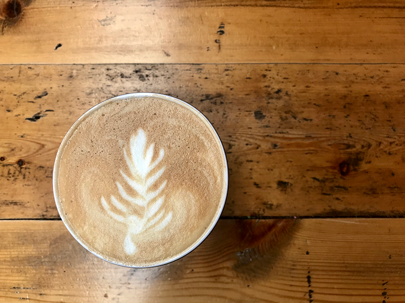 Awesome Coffee with coffee art