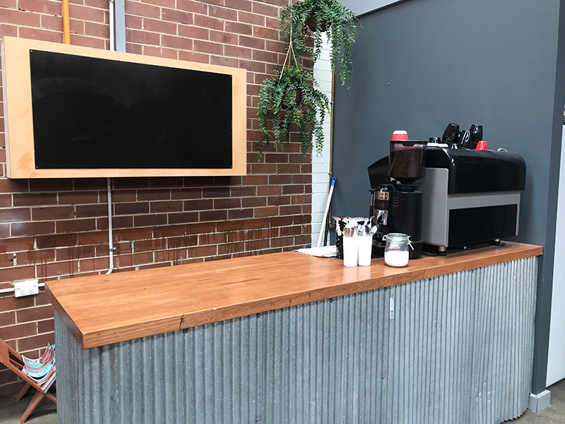 Party Venue's Coffee Machine